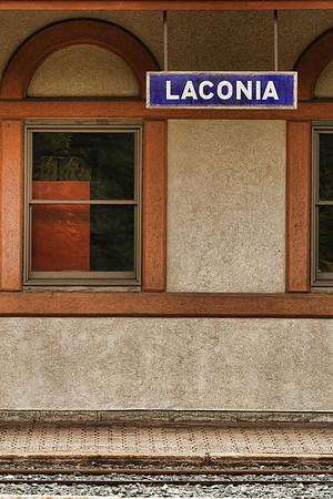 Laconia Passenger Station Platform 2<br /> Laconia, NH
