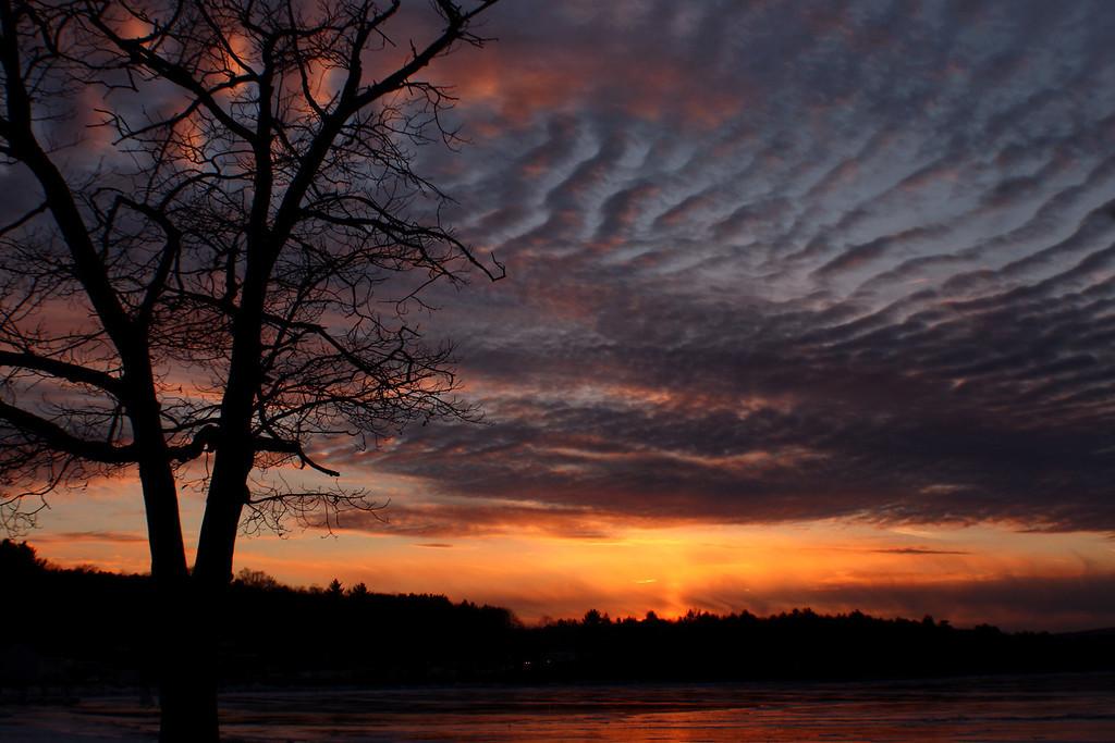 Bartlett Beach Sunset<br /> Laconia, NH