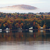Big Winnisquam<br /> View of Sanbornton from Belmont  NH Town beach on Lake Winnesquam