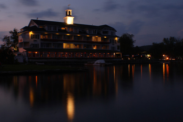 Bay Inn - Twilight<br /> Meredith Bay, NH