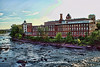 Morning Mills<br /> Taken from the Granite St. Bridge<br /> Manchester, NH