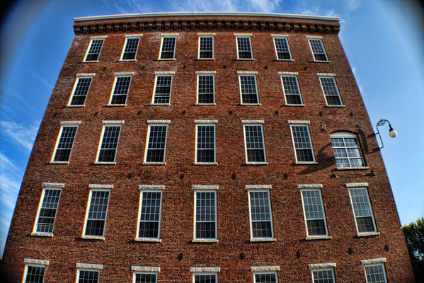 Pandora Side View<br /> Pandora Mills Building, Manchester, NH