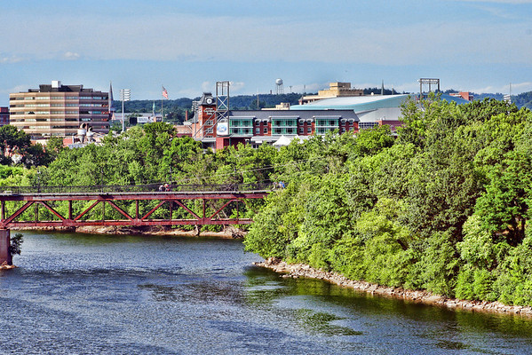 Stadiums and Bridge<br /> Manchester, NH