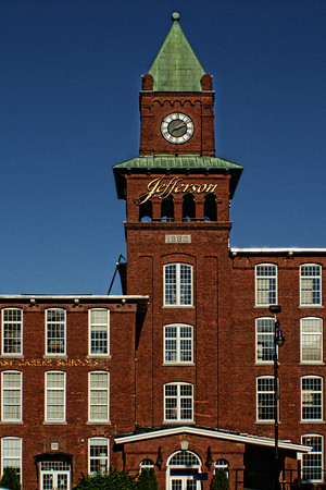 Jefferson Mill Clock Tower, <br /> Manchester, NH