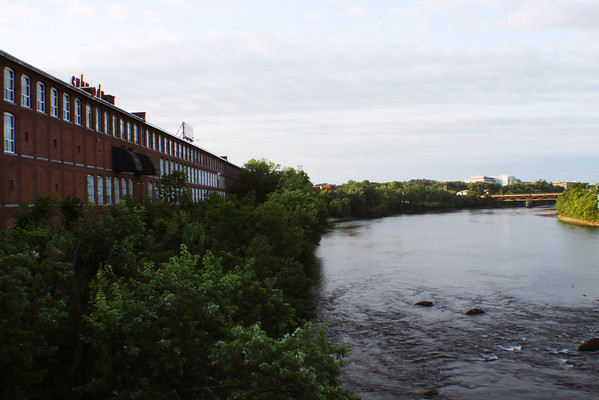 SNHU Down River<br /> From the Granite Street Bridge, Manchester, NH