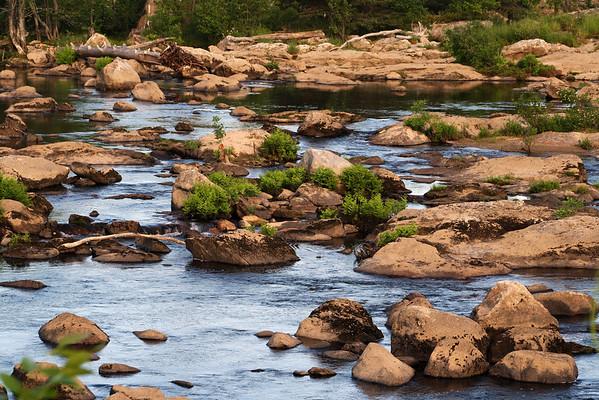 Rocky River<br /> Near Amoskeag Bridge Dam<br /> Merrimack River<br /> Manchester, NH