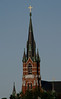 Steeple of Saint Marie's Church,  Manchester, NH