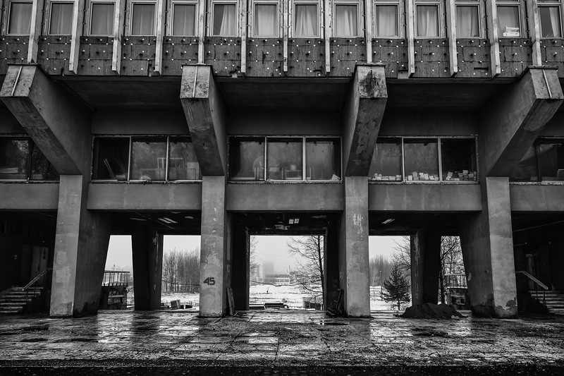 Belarusian National Technical University - backside