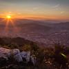 Sunset over Sarajevo II