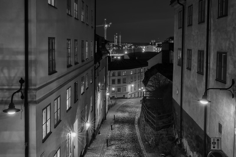 Old streets of Södermalm II - Stockholm