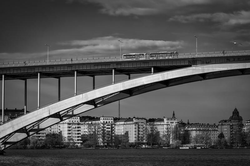 Västerbron (west bridge)