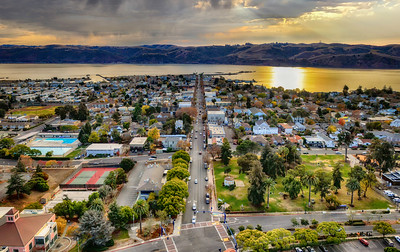 Downtown Benicia, California