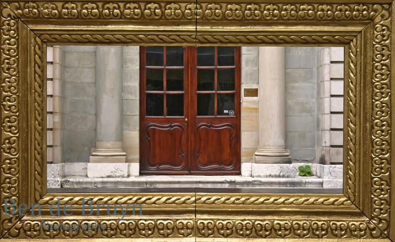 Aug 2010 Door frame Geneva