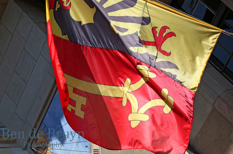 April 2013 Geneva Flag in sun 1
