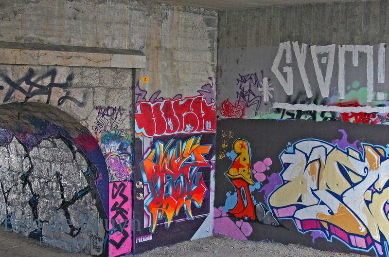 2010 Geneve Graffiti in Malagnou neighbourghood 1