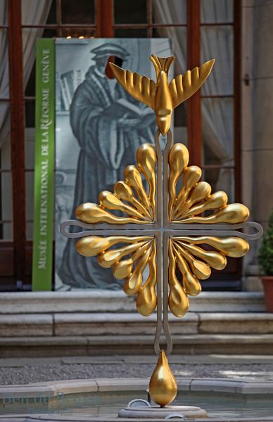 April 2013 Geneva Reformation museaum 2