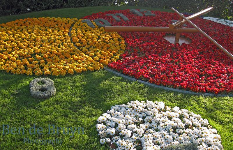 April 2010 Geneva flower clock 1