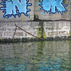 Aug 2010 Geneva lake and graffiti