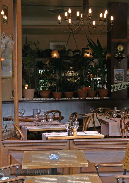 Aug 2010 Inside outside restaurant Geneva