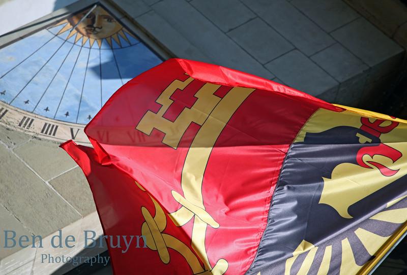 April 2013 Geneva Flag in sun 2