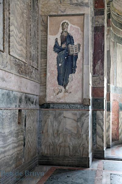 Istanbul:Fresco in the Kariye museum (Chora Church) 2