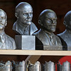 Lenin statutes on sale outside Moscow at a market