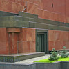 Red Square and Lenin musoleum in Moscow Russia