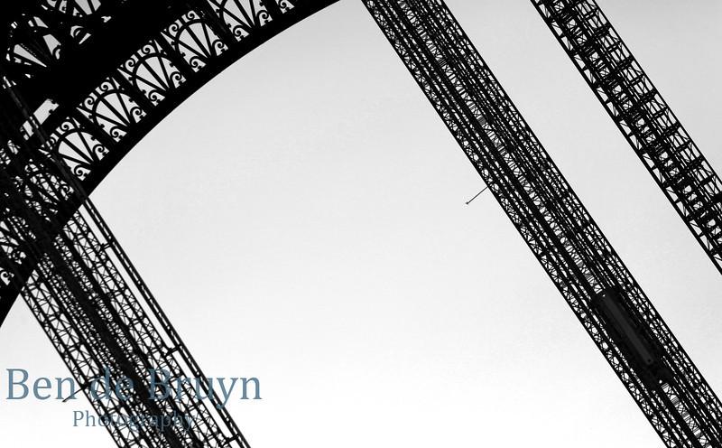 Paris: Eiffel Tower close up July 2012