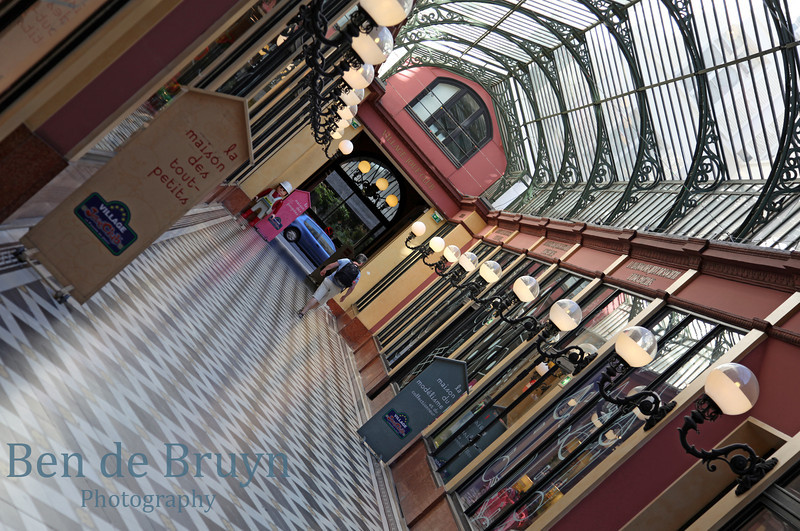 Paris: Old shopping center July 2012
