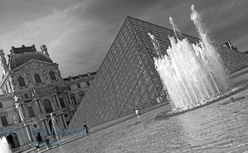 Paris: Louvre view 1 July 2012
