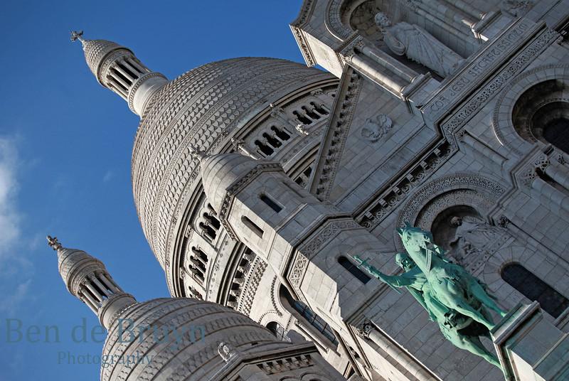 Paris:Montmartre Sacre Cur July 2012