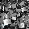 Paris: Locks on bridge July 2012