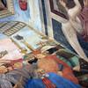 2016 G July  Arezzo San Francesco church Piero della Francesco muriel 5