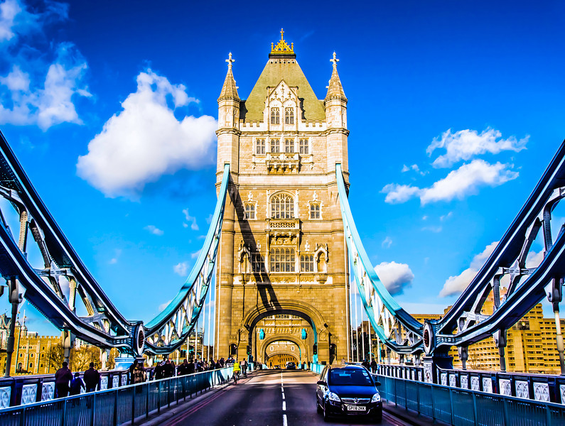The Tower Bridge<br /> <br /> London, England