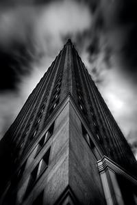 The corner sky