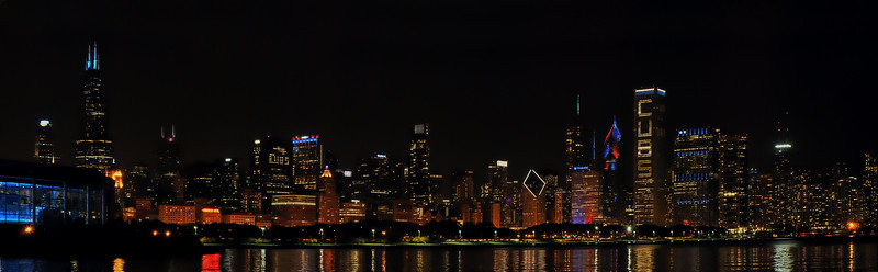 Chicago Cubs Skyline 2