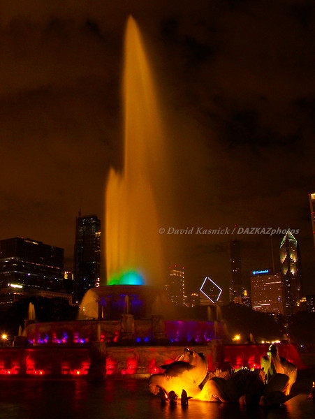 Buckingham Fountain 2 - Chicago, IL