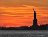 Liberty Sunset - New York City