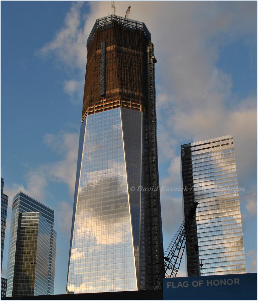 Ground Zero Tower Rebuild - New York City