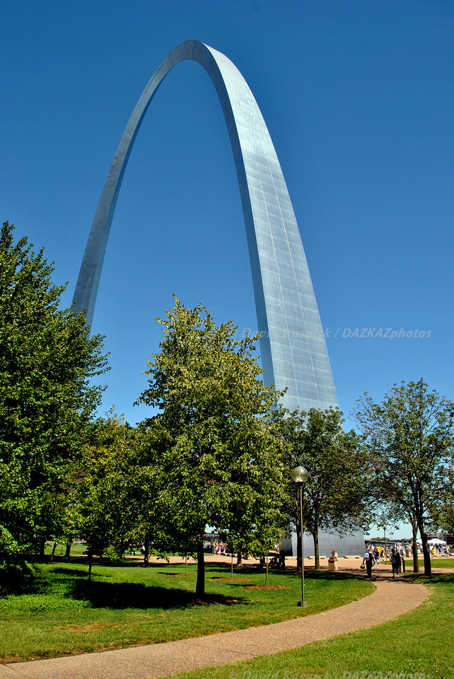 Gateway Arch 02- St. Louis, MO