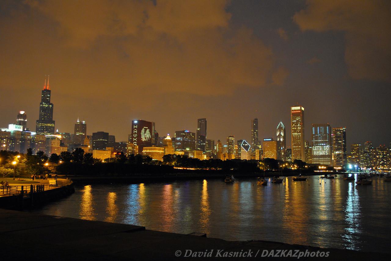 Night Skyline 2  - Chicago, IL