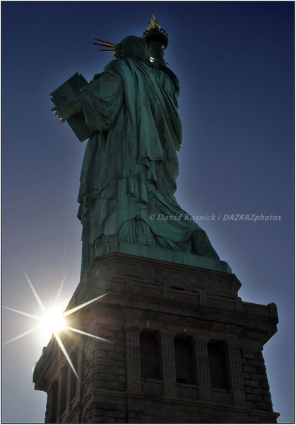 Liberty Sunrise - New York City