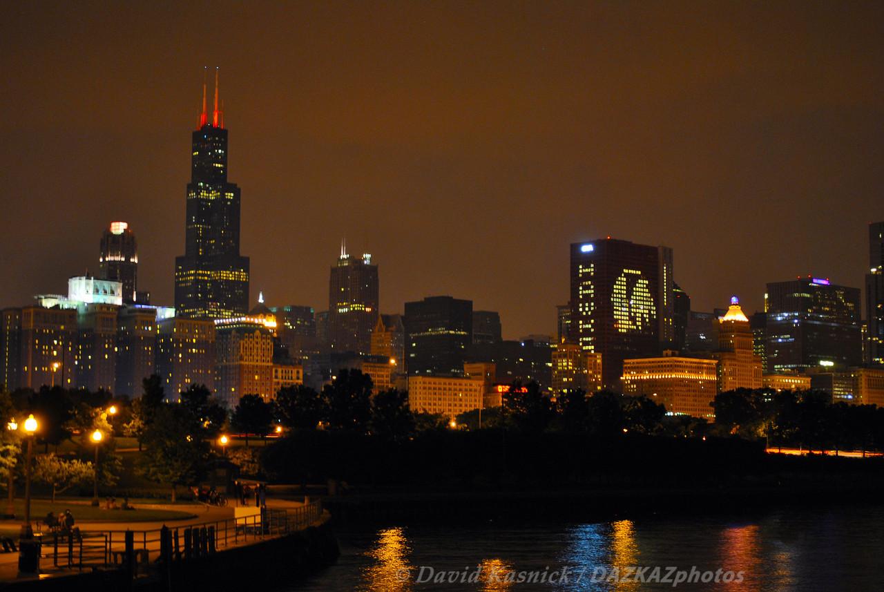 Night Skyline 1  - Chicago, IL