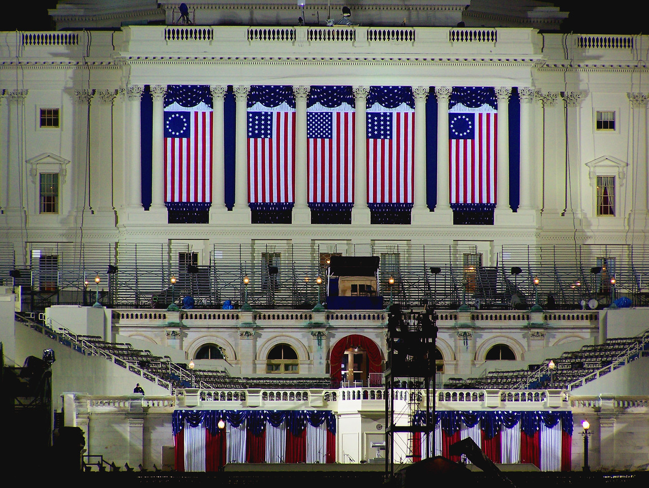 Capital Building, Inauguration Eve 2008 - Wash DC