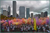 Color Run's Color Throw - Chicago, IL