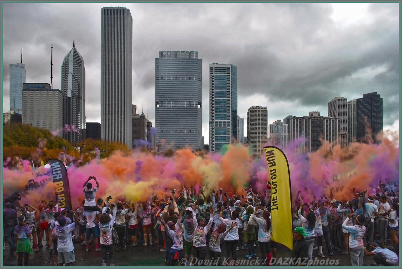 Color Run's Color Throw - Chicago, IL