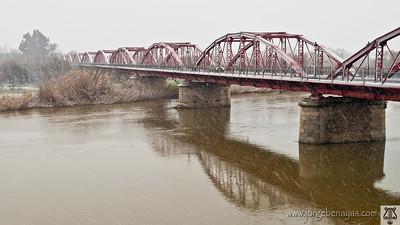 Nevada en el Puente de Hierro