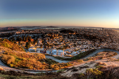 San Francisco Sunrise - © Simpson Brothers Photography