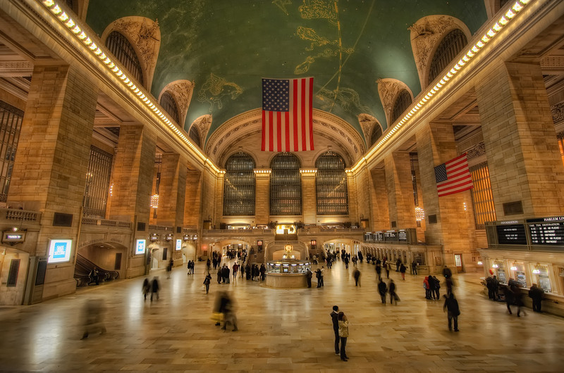 The Main Hall in Grand Central