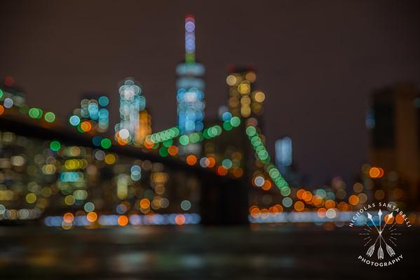 Brooklyn Bridge Bokeh
